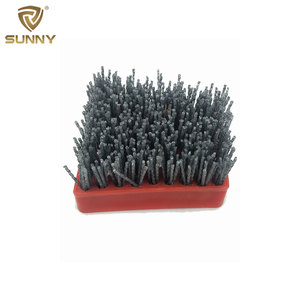 Frankfurt silicon carbide abrasive brush for stone polishing