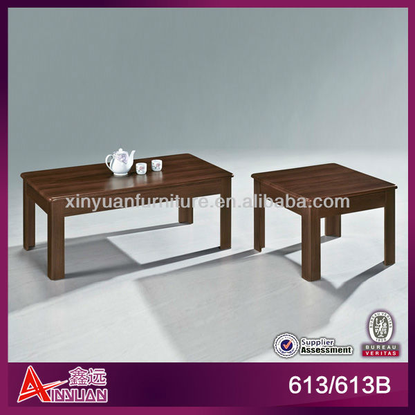 613/613b Simple 45cm Highter Wooden Centre Table Designs