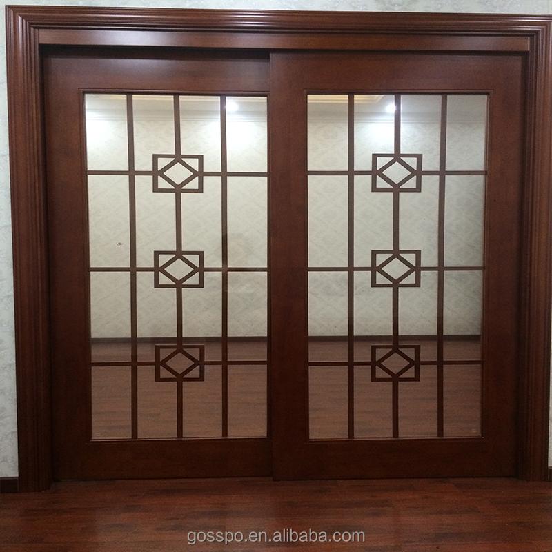 Cucina in legno legno telaio porta scorrevole in vetro con griglia di vetro porta id prodotto - Telaio porta scorrevole prezzo ...