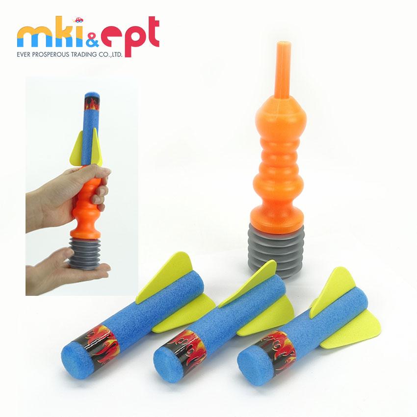 Hot Selling Kids Interessante Foam Rocket Launcherrocket