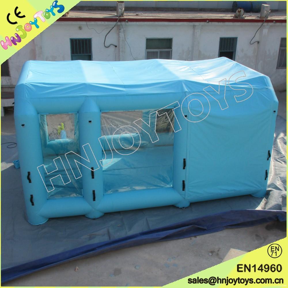 voiture gonflable garage carport voiture garage tente portable auto peinture cabine de. Black Bedroom Furniture Sets. Home Design Ideas