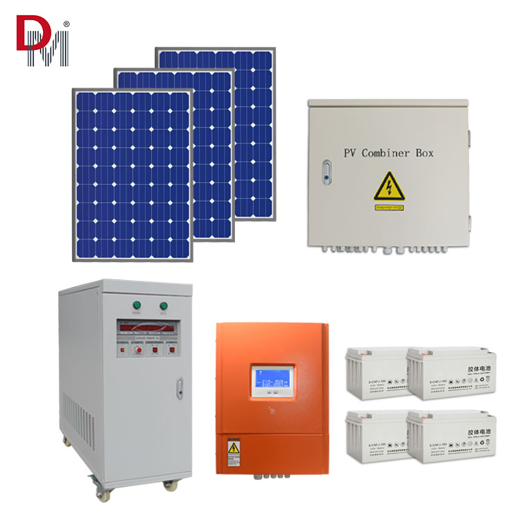 10KW off grid home use solar power system