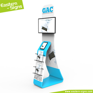 collapsible photo booth Tablet PC TV stand/media kiosk
