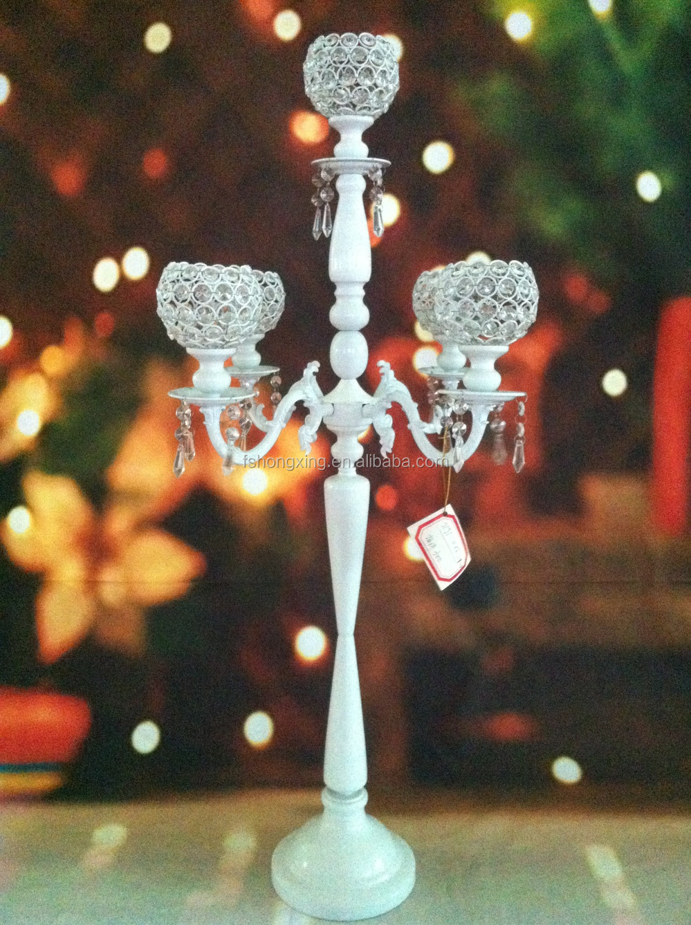 Hot arms tall hanging wedding table centerpiece