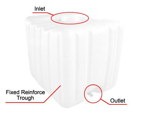 High Quality Square Plastic Water Tank