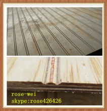 1220x2440mm 9mm 12mm T&G full pine W groove plywood