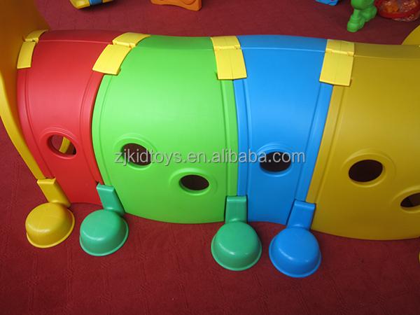 enfants en plastique caterpillar tunnel jouet enfant en plastique jeu tunnel aire de jeux en. Black Bedroom Furniture Sets. Home Design Ideas