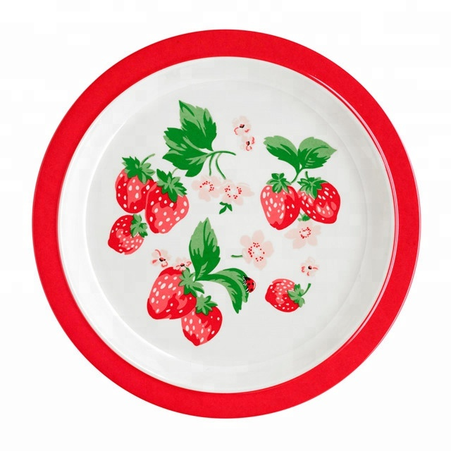 Promotional Gift Custom Cheap 100% Melamine <strong>Plate</strong>