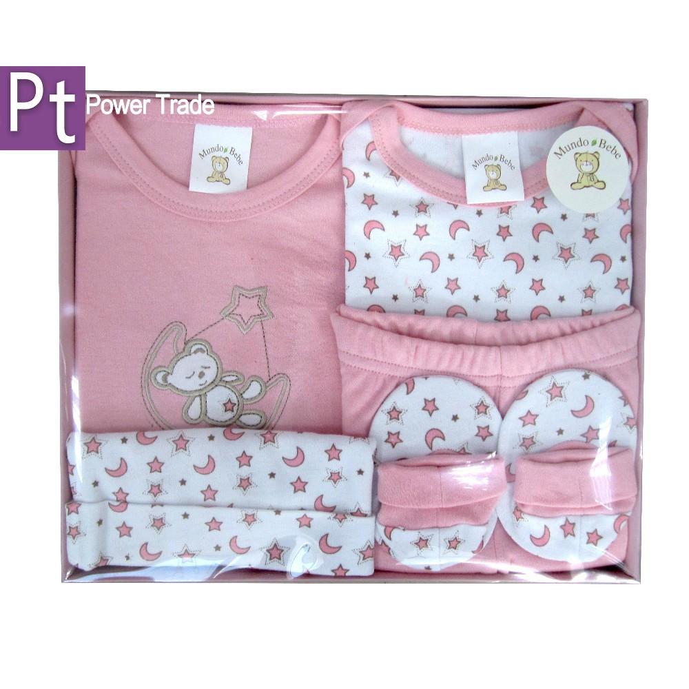 1bf6277d12d7e مولود جديد 5 قطع قديمالخطمي  ملابس الطفل  ملابس اطفال  محاصر مجموعة هدايا  للأطفال