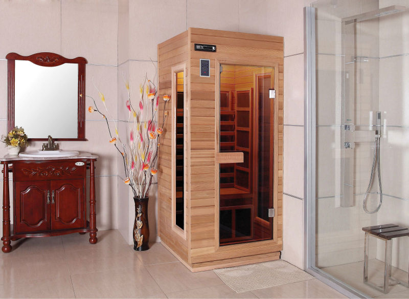 mini sauna f r 1 person fs 90rf bad saunazimmer produkt id 1033583703. Black Bedroom Furniture Sets. Home Design Ideas