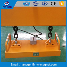 China single thick steel plate lifting electromagnets with rated lifting capacity 2000kg