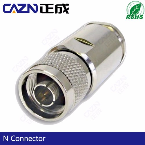 Base station antenna Connector N Male Plug Clamp Connector