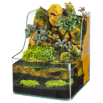 Eco Friendly Water Garden Flower Pot Water Fountain Fish Tank Aquaponic  Aquarium