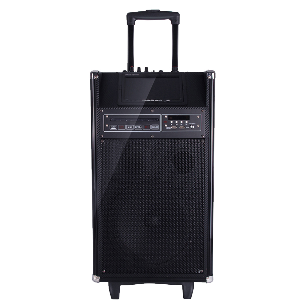 New Products dj songs mp3 free download 2017 Waterproof Portable Trolley Bluetooth BT Speaker