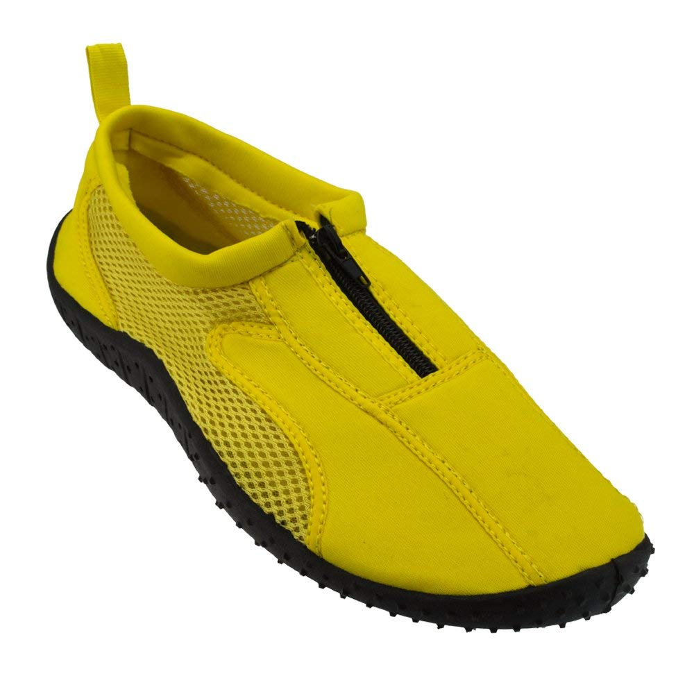 7ff786a342ad Buy ROCKIN FOOTWEAR NEW Mens Neon Orange Aqua Foot Water Socks Shoes ...