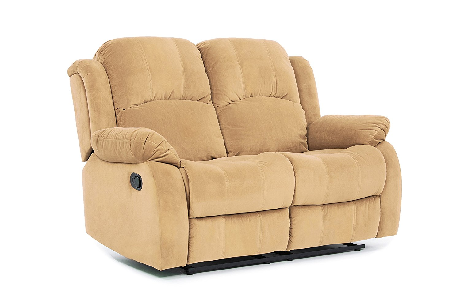 Classic and Traditional Brush Microfiber Recliner Chair, Love Seat, Sofa Size - 1 Seater, 2 Seater, 3 Seater Set (2 Seater)