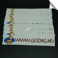 0.12mm water proof vinyl blue label distributors