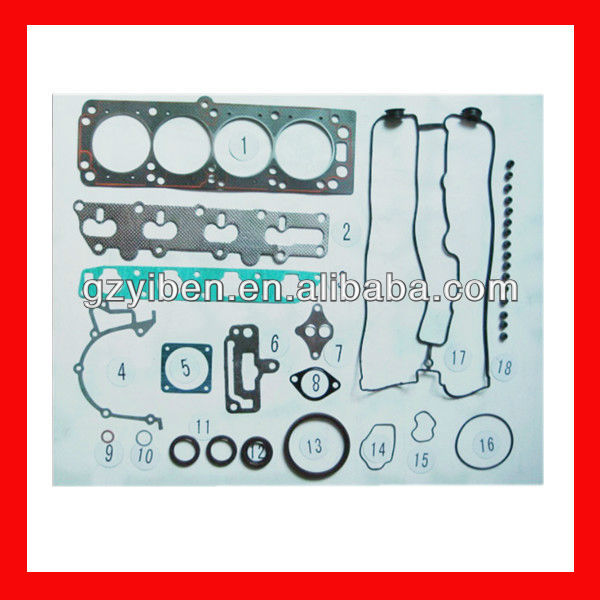 Car spare part full gasket set for opel-x22xe--50188400