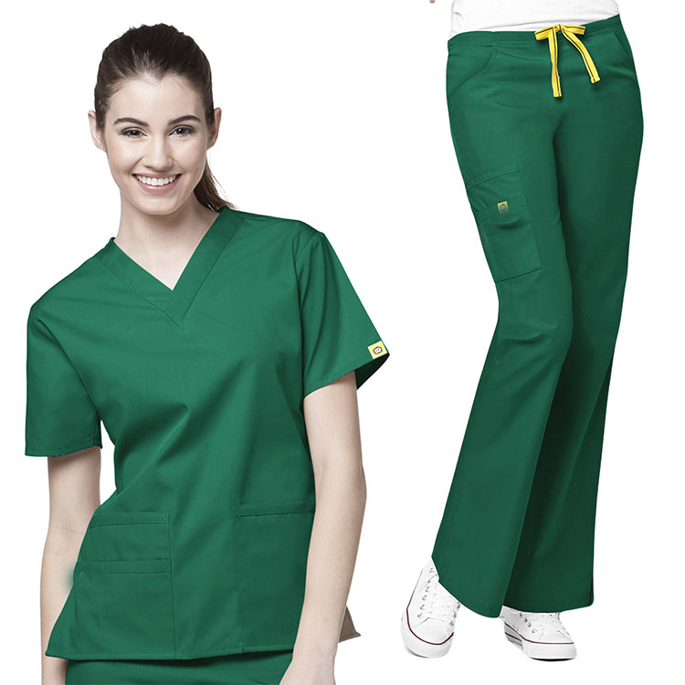 fd8b9dcb1bc High Quality Hospital Scrub Suit,Green Nurse Medical Scrub - Buy ...