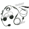 Full face Motorcycle helmet headset for Motorola GP388 PTX760plus PRO5150Elite PRO7150 ELITE GP328plus GP338plus GP344 GL2000