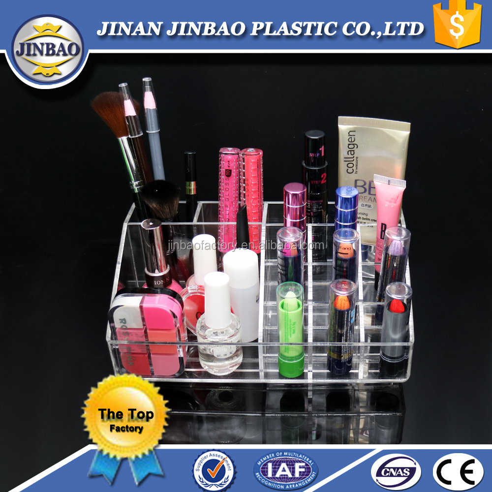 JINBAO factory good price used jewelry acrylic display cases