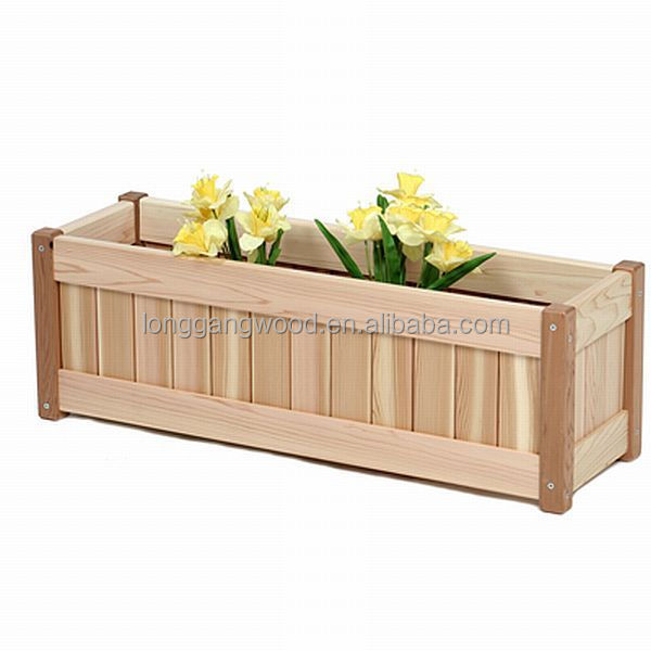 Timber Planter Boxes,Indoor Planter Boxes,Wood Planter Box - Buy ...