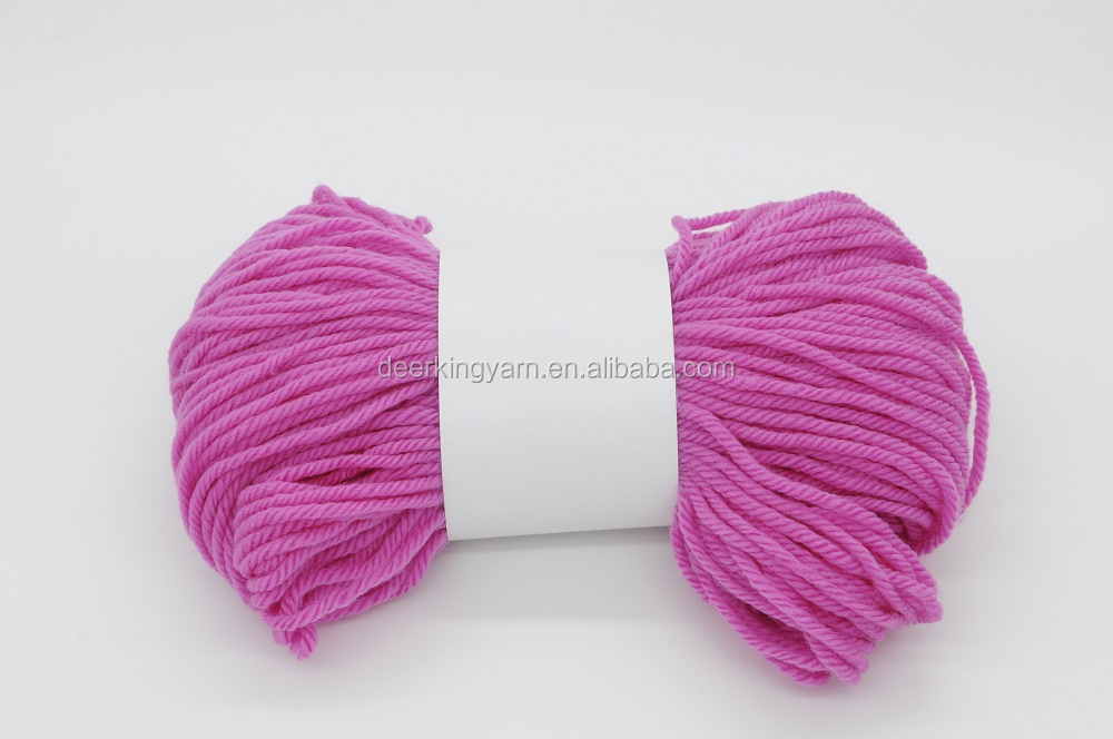 Super soft high quality Bulky knitting yarn 100% Acrylic yarn for knitting