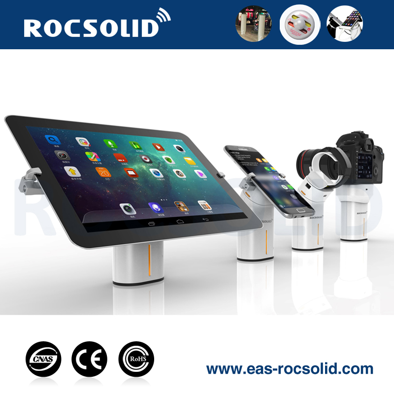 security ring display,ring holder for mobile phone,cell phone display retractable security cable