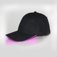 Best selling new design led light baseball cap wholesale promotion custom safety cool baseball cap