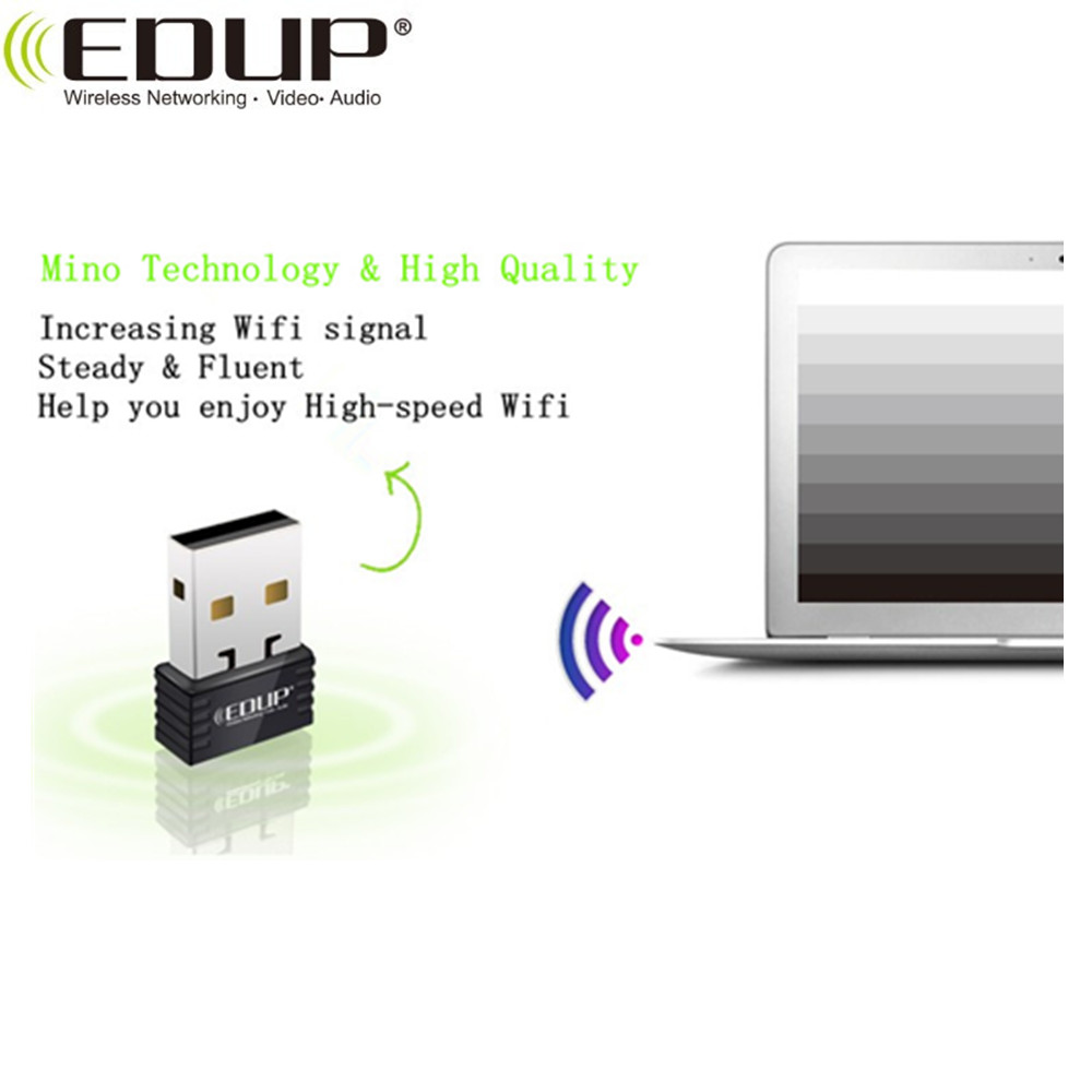 EDUP 150Mbps EP-N8531 mini usb wifi adapter with Ralink5370 chipset