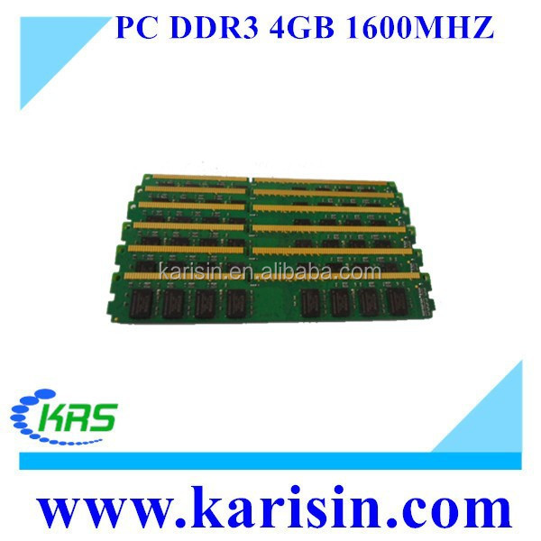 Manufacturer DDR3 Ram 2gb 4gb 8gb at wholesale price