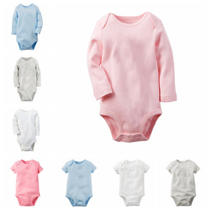 New Born Baby Clothing Bamboo Baby Clothes Blank White Baby Rompers Wholesale