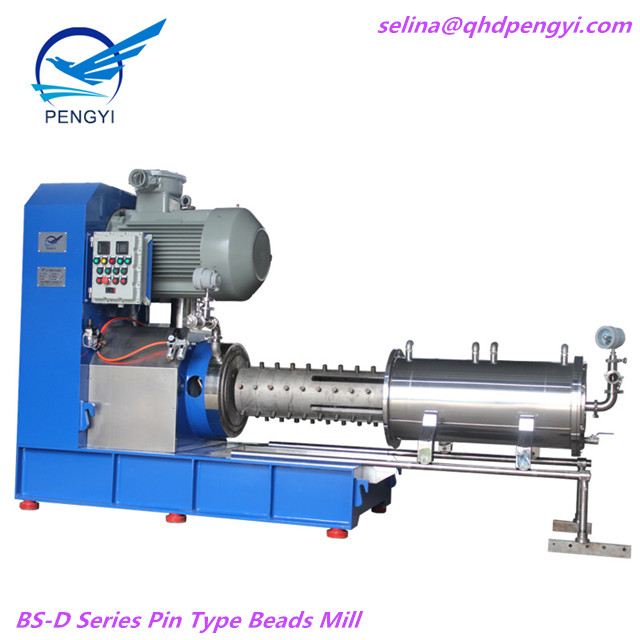 High Efficiency Horizontal Pin Type Bead Mill