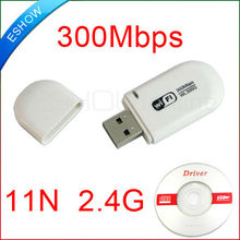 300Mbps WiFi wireless USB Network LAN Card Adapter