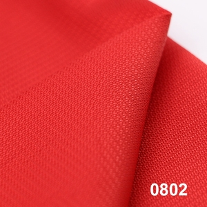 0802 breathable pu coated polyester fabric