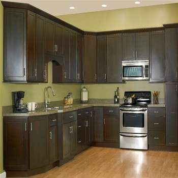 Made in china pre assembled kitchen cabinets buy pre for Pre assembled kitchen units