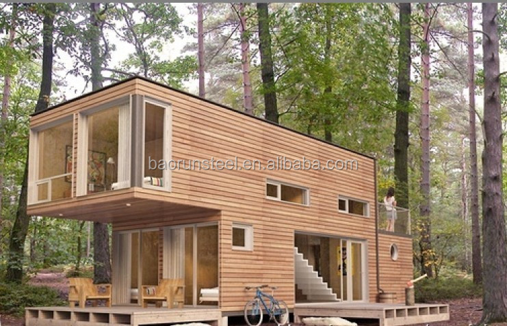 high quality prefabricated steel shipping container house