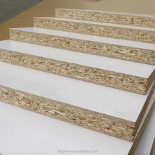 China chipboard ,particle board, E1,competitive price melamine particle board