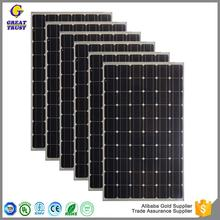 Professional 150 watt solar panel solar panel made in japan sun visor solar panel