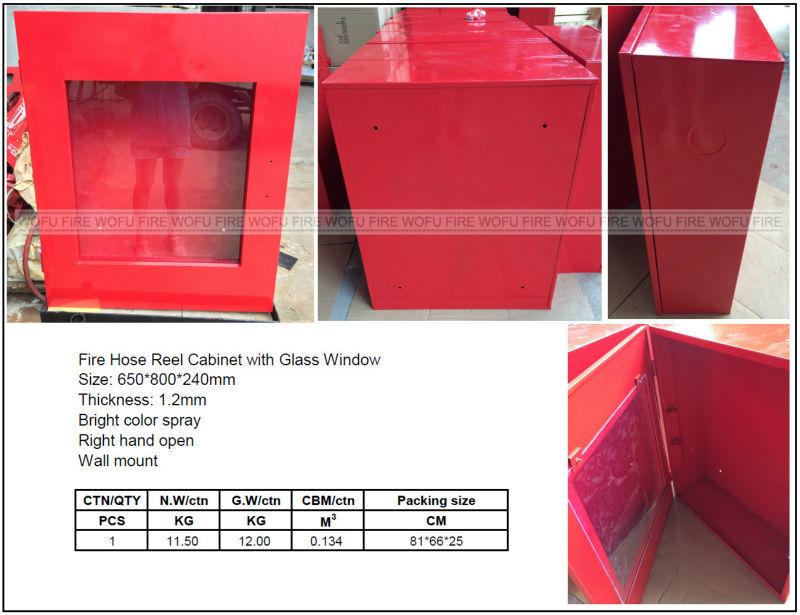 Fire Hose Reel Cabinet, Steel Fire Hose Reel Cabinet