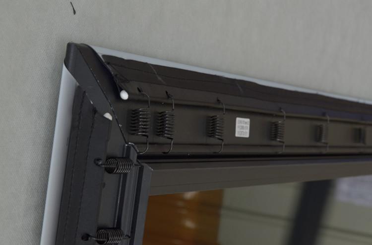 """80 """"100"""" 120 """"150"""" 180 """"200"""" Slim Bezel Ad Alto Guadagno Schermo Luce Ambiente Rifiutare schermo del proiettore ZHK100B-Black Cristallo HG"""