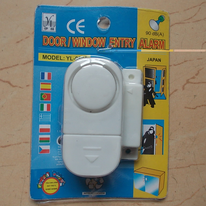 FB019 Wireless Home Window Door Alarm 120db High Sound Mini Anti Theft Window Door Alarm