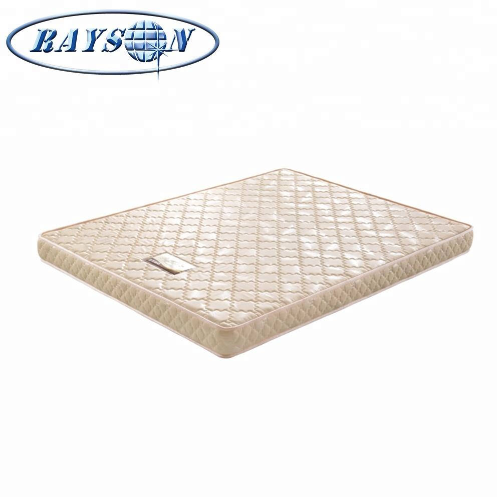 Bedroom Hyper Elastic Polymer Foam Mattess Topper Mattress Queen 6 Inch Double Layer Polyurethane Mattresses