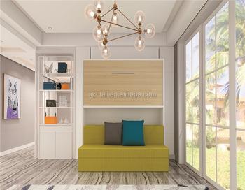 Etagenbett Platzsparend : Etagenbett stil sofa platzsparende möbel wand bett