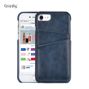 Slim PU Leather Wallet Credit Card Holder Back Phone Cover Case Skin For Apple iPhone 8