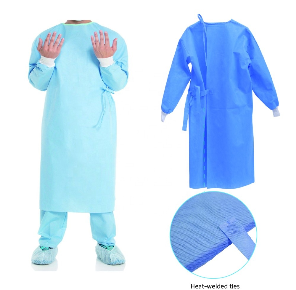 Hospital <strong>Protective</strong> Clothing Ultrasonic Welding Sterile Medical sterile disposable surgical gown