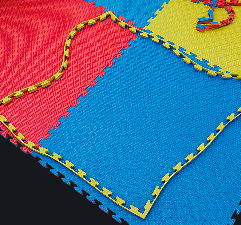 Factory lower price EVA foam mat any thickness color reversable tatami grappling mats