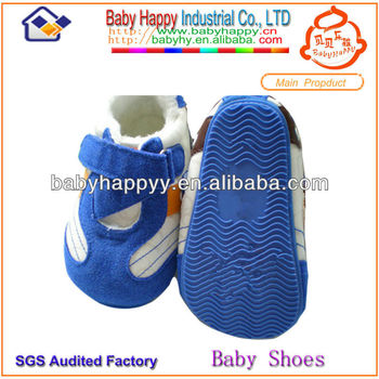 Discount Hot Selling Warm Baby Hard Sole Walking Shoes