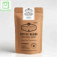 Wholesale Best Selling Colorful Custom Printing Plastic Kraft Paper Bag For Coffee Beans