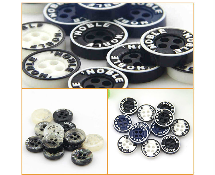 2015 hole fancy candy color polyester button,regular plastic resin button for clothing